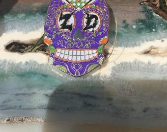 Zeds dead hat pin - Serpant Skull