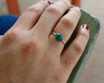 Sterling Silver // Turquoise Ring