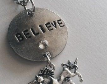 Believe In Unicorns Fantasy Cosplay Necklace