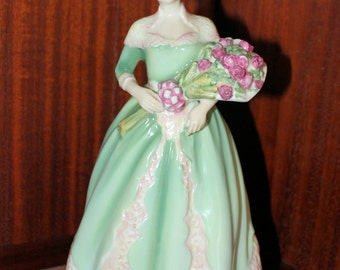 Rare Royal Doulton Happy Birthday HN3660 Figurine Nada Pedley Copyright 1994