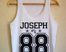 twenty one pilots shirt  Tyler Joseph shirt   Tyler Joseph tshirt  UNISEX Tank Top for Men & Women  Tyler Joseph 88 TT