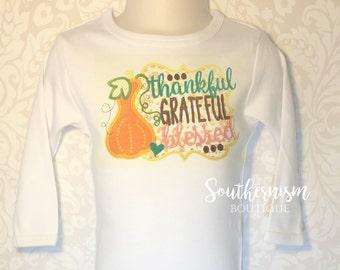 Girls Pumkin Shirt, Girls Fall Shirt, Personalized Thanksgiving, Fall Shirt, Turkey, Boutique, girls thanksgiving, Pick of the Patch