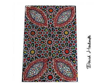 60 cm x 40 cm ,Hand made Tiles ,Wonderful,Large size hand made and hand painted ceramic tiles for using on walls ,for making frame