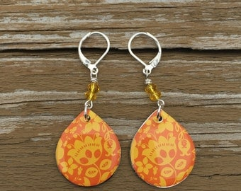 Yellow & Orange Earrings