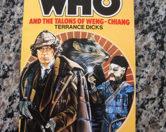 Doctor Who - And The Talons of Weng-Chiang - Target Paperback Book