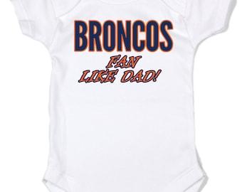 Broncos baby clothes