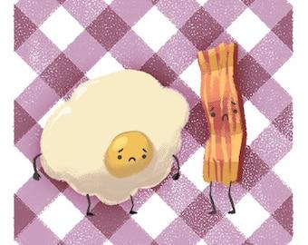 Sad Eggs & Bacon