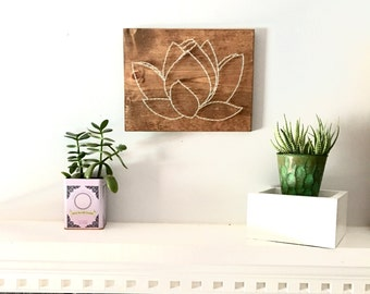 Lotus Wall Art, Living Room Wall Art, Dining Room Wall Art, Bathroom Wall