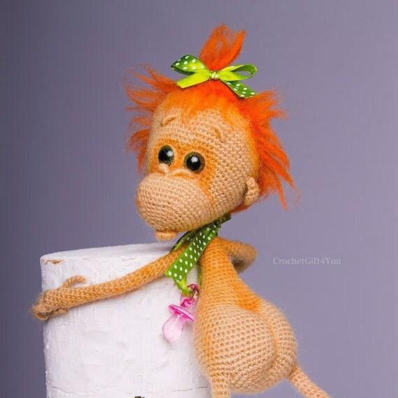 Crochet Monkey / Baby Monkey / Amigurumi