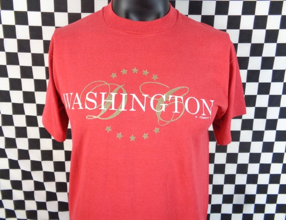 vtg washington dc tshirt vintage washington t shirt large