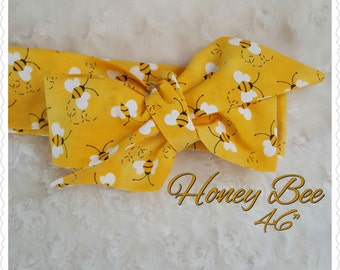 Honey Bee- baby skirt -toddler skirt- Headwrap- head band-Bloomers