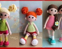 Good girls PDF crochet two doll pattern