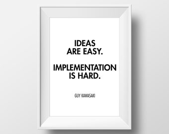 Office Wall Decor, Entrepreneur, Office Quote, Entrepreneur Quote, Quotes, Printable Lifestyle, Motivation, Inspiration, Motivational Art