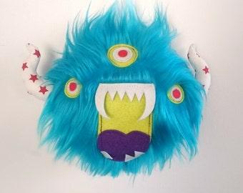 Monster Teddy, Teddy Monster, Monster, Plushtoy, Cuddlytoy