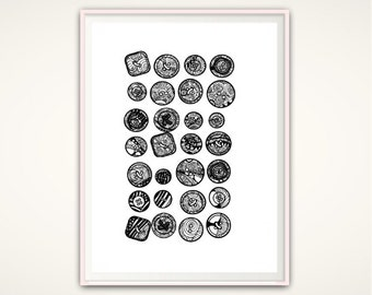 """Shop """"button"""" in Art & Collectibles"""