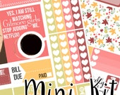 Gilmore Girls Mini Weekly Kit - Planner Stickers