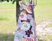 Elegant Floral Farm Girl Work Apron | Ready to Ship!