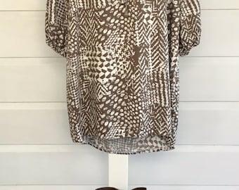 Viscose print dress