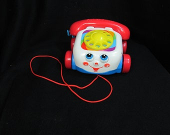Pull toy - Mattel Toy - Music and Sound - toddler toy  - children's toy - Fisher Price toy - toy phone - # 13