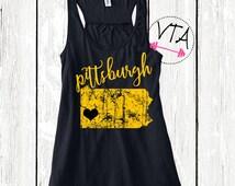 Pittsburgh tank top. I love Pittsburgh. Pittsburgh Sports. Pittsburgh Steelers. Pittsburgh Pirates. Pittsburgh Penguins.