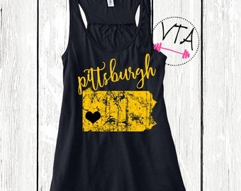 Pittsburgh tank top. I love Pittsburgh. Pittsburgh Sports. Pittsburgh Steelers. Pittsburgh Pirates. Pittsburgh Penguins.