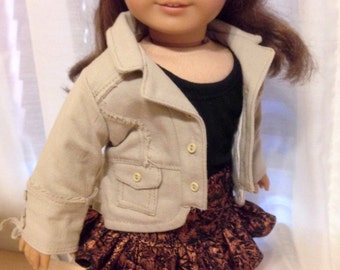"Doll Jacket for your favorite 18inch doll   ""AMERICAN MADE"""