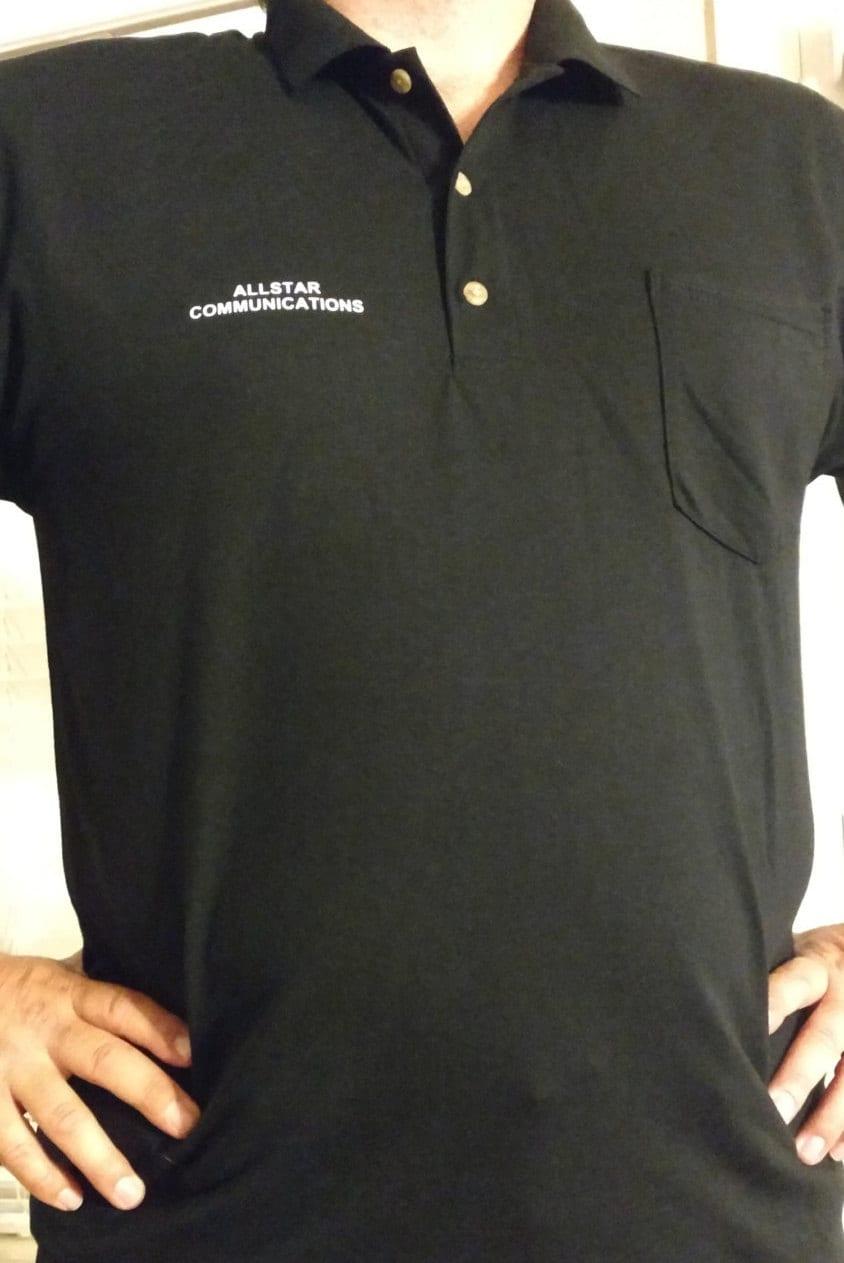 Custom Company Name Logo Business Polo With Pocket 8900