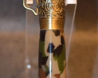 Antique Brass Lever Action Bullet Pen