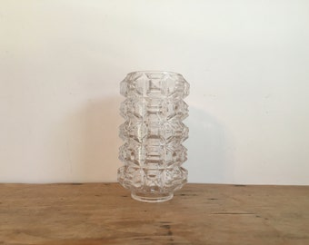 French Vintage Glass Wall Sconce