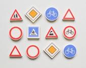 Traffic Sign Eraser Mix, 5 pieces Koh-i-noor graphie rubber