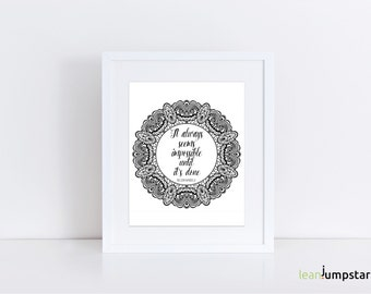 Office Quote Poster, Office Quote Prints, Office Quote Signs, Script Wall Art, Scripture Wall Art, Scripture Print, Scripture Printable, Art