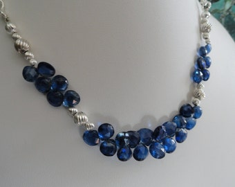 Kyanite necklace and earring set   -   #458