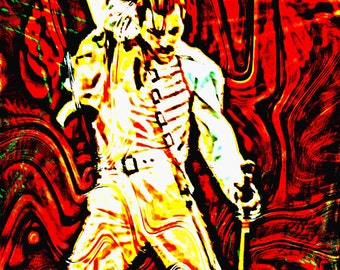 Freddie Mercury Abstract 1. Queen