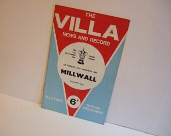 Peter Withe European Final 1982 Print Villa v Munich Aston Villa Print
