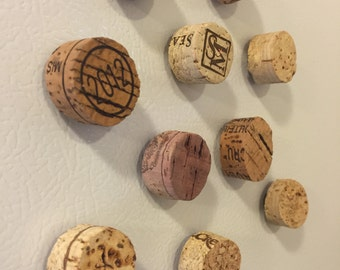 Cork Magnets, Set of 10