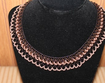 Miyuki Seed Bead Collar Necklace