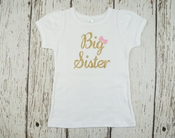 big sister shirt, big sister little sister outfit, bodysuit, big sister top, little sister top, big sister outfit, coming home outfit