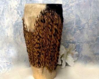 African Drum Goat hide, Tribal Drum,Handmade Animal Hide Art,music drum