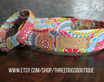 "Dog Collar with optional bff bracelet ""The Roxy"" FREE SHIPPING 