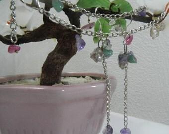 Icicles Kit of Earrings Silver plated hooks & Bracelet Gift Bijou Single Copy