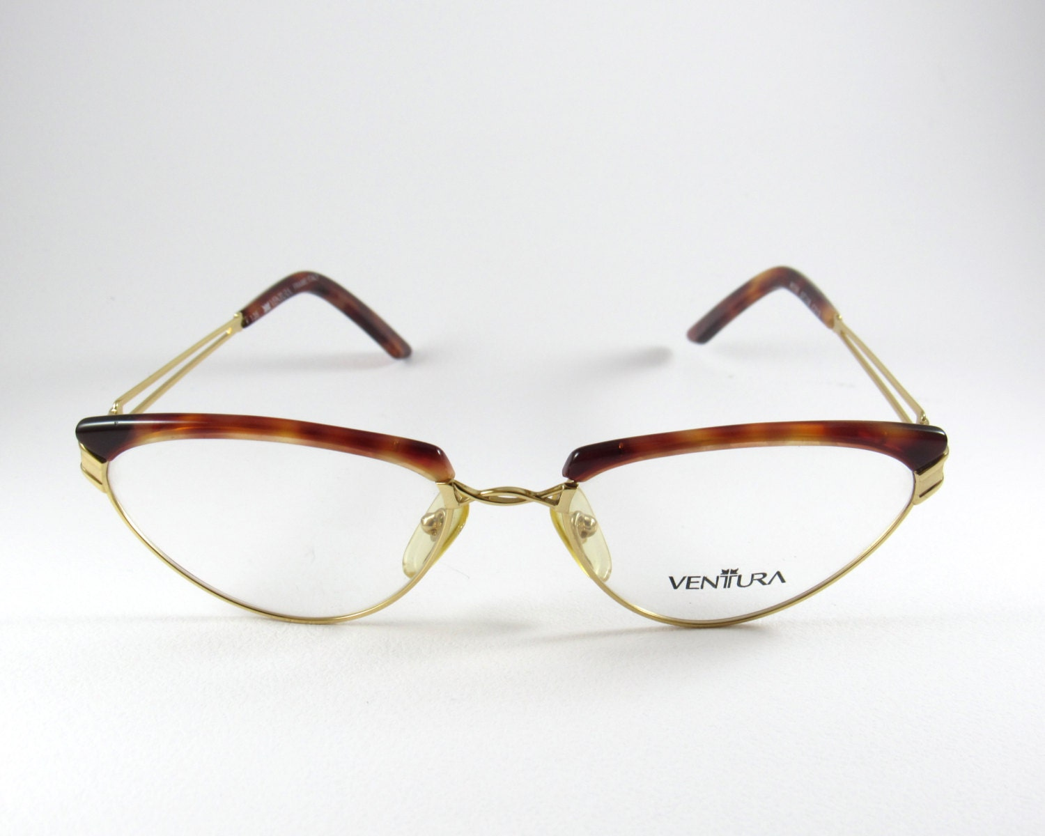 Eyeglass Frames Ventura Ca : Vintage Cat Eye Frames Dedalo by Ventura Cat Eye Glasses