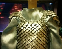 Fantasy MSD sized BJD Scale Armour - Ball Joint Doll Scale Maille Armor Mini Medieval/Historical - Not for children