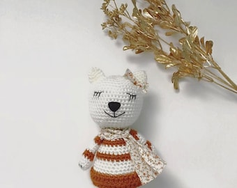 Kai the Kitty // Crochet Cat // Doll