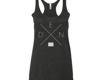 Denver Home Racerback Tank Top – Colorado Shirt, DEN Tank