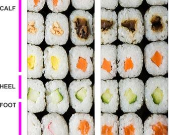 Sushi Socks - Sushi Lovers - California Rolls