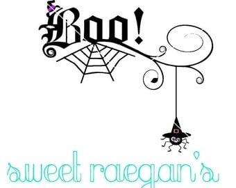Halloween svg, Boo svg, Boo swirl svg,  October 31st svg, 31st of October svg,spider svg, instant download, witch svg, svg halloween,svg boo