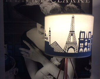 Paris Cityscape lamp shade