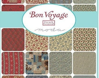 SALE!!! Bon Voyage- Layer Cake  - Moda - by French General