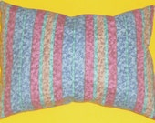 pillow, decorative pillow multicolor stripes