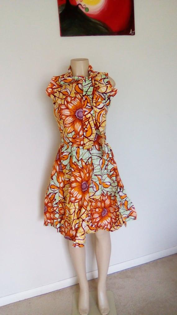 Ankara Dress/African Dress/Ankara Gown